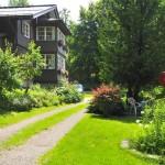 Die Zufahrt zum Haus