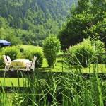 Im Garten von Haus Bürgle